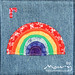 Soft book for Grace - r is for rainbow