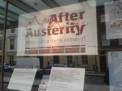 """""""After"""" Austerity - TUC Dreamland (London Permaculture) Tags: london collapse depression unions economic financial contraction tuc recession gfc austerity downturn creditcrunch globalfinancialcrisis afterausterity"""