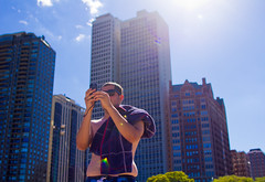 Andrei Videography (andrewpabon) Tags: chicago beach downtown weekend 2012 lollapalooza oakstreetbeach