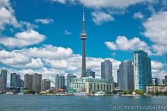 Toronto Skyline 3 (Howard Yang Photography) Tags: toronto cntower torontoskyline TGAM:photodesk=landmarks2012