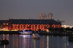 Yokohama Red Brick Warehouse () (Kiccororin) Tags: ferris baybridge ferriswheel nightview yokohama   yamashitapark redbrickwarehouse   westernstyle  yokohamaredbrickwarehouse