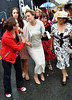 'Best Dressed Lady' winner Lucy Gilmore Murphy Blossom Hill Dublin Horse Show - Ladies Day Dublin, Ireland