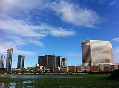 Have a beautiful Sunday (Rosanna Leung...away for 2 weeks) Tags: building pond casino venetian macau cod   taipa cotai  casinohotel cotaistrip         sandscentral