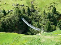 A Bridge to cross (Soeradjoen) Tags: bridge nature vent austria oostenrijk natuur brug tyrol 2012 hangbrug soeradjoen