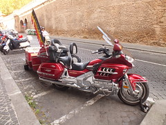 Ride with me (E Pulejo) Tags: street red bike wall moto motorcycle rockers bikers