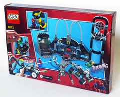 6873 Box Back (Oky - Space Ranger) Tags: lab iron lego ultimate anniversary review spiderman super fist heroes marvel doc academy universe ambush ock reviewers 6873 eurobricks