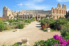Tunisia-3328 - El Djem Amphitheater (archer10 (Dennis) (66M Views)) Tags: museum nikon tour tunisia free mosaics colosseum amphitheater dennis jarvis tunnels cosmos d300 iamcanadian eldjem 18200vr freepicture 70300mmvr dennisjarvis archer10 dennisgjarvis