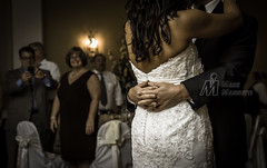 First Dance (M-M_Photo) Tags: family wedding woman man sexy male love girl female canon hair eos groom bride back oak hands dress connecticut 28mm ct marriage curls grand reception 7d villa attractive waterville 28 18 watertown 1755 100mml christinacarminewedding