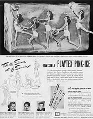 42 (Undie-clared) Tags: girdle playtex pinkice