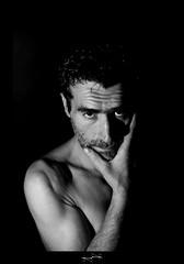 Mon pre c'est le plus beau en noir et blanc lol ('^_^ Damail Nobre ^_^') Tags: blackandwhite favorite black france art canon geotagged blackwhite affection fave blanc 50mm12 franais barbe homme francais garon adoration artiste artistique attachement favoris damail 5dmarkii francais wwwdamailfr