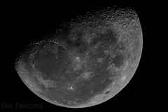 Moon Shot Tonight - Heldheld (Dan Pancamo) Tags: november moon nature texas jupiter 2012 canon7d canon14xiii canon500mmf4isii