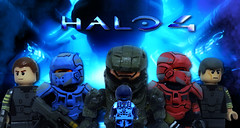 Wake Up John. (MGF Customs/Reviews) Tags: dawn war lego infinity chief 4 rifle review halo battle games master launch requiem campaign forward ops spartan the cortana unto unsc forerunners didact prometheans