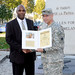 USARAF's Dan Brown inducted into Honorable Order of St. Martin