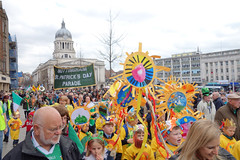st patricks day parade - nottingham (-klik-) Tags: ireland irish patrick eire stpatricksday