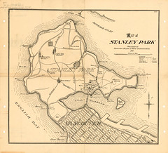 stanley park map 1911 (vancouverbyte) Tags: vancouver oldvancouver vancouverarchives vintagevancouver