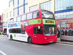 140304-141235 (West Midlands Travel Ltd. 4851-BX61LME) (Bus Buster UK) Tags: street city travel 2 west bus corporate birmingham 33 centre bull route national service express lower alexander dennis division limited ltd branding midlands trident twm livery wmt 4851 pheasey enviro400 nxwm bx61lme