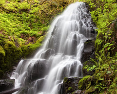 fairy falls (Charlie Zevon) Tags: waterfall gorge pnw