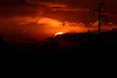 tramonto (ecordaphoto) Tags: light sunset shadow sun hot bird nature landscape nikon tramonto natura sole luce dx uccello 55300 d5100