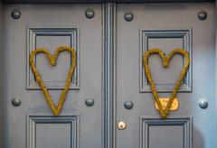 2 Hearts (Infomastern) Tags: door heart drr ystad hjrta
