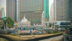 Masjid Jamek (amarkgio) Tags: street city fountain square gallery dancing market petronas towers central twin caves malaysia kuala petaling klcc batu masjid merdeka suria lumpur pasar seni jamek