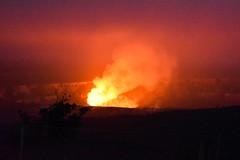 Hawaii Volcano National Park at night (elromo89) Tags: red fire volcano hawaii nationalpark nikon warm crater glowing hawaiivolcanosnationalpark