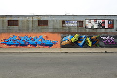 trace lovepusher (Luna Park) Tags: nyc ny newyork brooklyn graffiti mural jesus trace production lunapark lovepusher