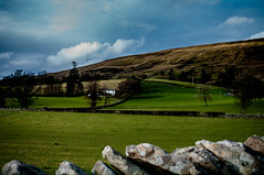Dentdale - Across the Valley (Harvey Smith) Tags: blue trees england white green wall landscape photography spring northwest pentax smith dent cumbria harvey northern drystonewall 2016 northernengland countrysidewalks harveysmithphotography2016 dentadale