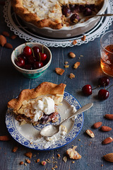 IMG_9532_exp (Helena / Rico sin Azcar) Tags: cherry frangipane tart hazelnut tarta cerezas almendras