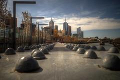melbourne (mariusz kluzniak) Tags: city bridge sunlight skyline architecture point long exposure cityscape australia melbourne victoria vanishing