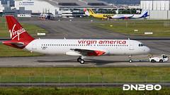 Virgin America A320-214 msn 7207 (dn280tls) Tags: america virgin msn 7207 a320214 fwwds