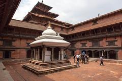 Temple Square (Mark S Weaver) Tags: kathmandu nepa