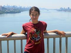 Eden Over the Hudson (edenpictures) Tags: daughter hudsonriver eden fathersday georgewashingtonbridge