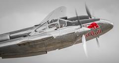Gives You Wings v2 (G&R) Tags: red england canon unitedkingdom aircraft aviation flight bull airshow duxford lightning lockheed iwm p38 2015 7d2