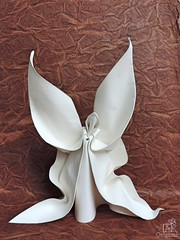 Love (quiet marverick) Tags: love origami paper white angel art wedding curves