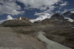 Columbia Icefield-8 (David Minty) Tags: sky cloud snow mountains water river landform