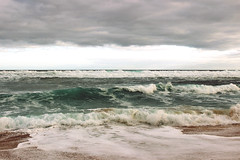 Cloud and ocean waves (Julia_Kul) Tags: ocean blue sea sky seascape storm motion beach nature wet water beauty rain weather clouds danger speed dark big dangerous waves moody power view wind crash outdoor background extreme attack scenic dramatic wave stormy fresh tsunami shore foam disaster copyspace splash breaking conditions wavely