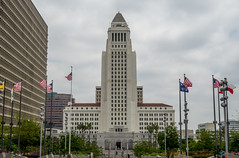 Los Angeles City Hall (Anthony's Olympus Adventures) Tags: los angeles california usa america cityhall downtown building observationdeck council civic center
