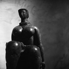 france_trip012 (ilija.karavlah) Tags: sculpture france museum rolleiflex delta epson 3200 ilford volti ddx villefranchesurmer 28e v750 antoniucci voltigero