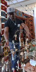 Safari Patrick: Art from the Kakuma Refugee Camp (beppesabatini) Tags: california richmond bayarea artsandcrafts kpfa craftsfair artsfair cranewaypavilion 941kpfa 2ndannualkpfasummerartsfair2016 kpfasummerartsfair
