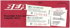 BEA Ticket - AER LINGUS flight [July 1972] (tubular60) Tags: ireland birmingham bea cork ticket luggage baggage aerlingus britisheuropeanairways airlineticket elmdonairport warsawconvention hagueprotocol
