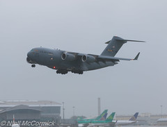 04-4137 USAF United States Air Force Boeing C-17A Globemaster III (Niall McCormick) Tags: dublin airport force aircraft air united iii states boeing globemaster usaf airliner unitedstatesairforce c17a eidw 044137 reach285