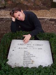 Ian Ayres @ Gregory Corso grave (Rome, Italy) (LoveMattersMost) Tags: gregory corso ian ayres rome italy