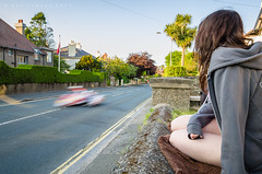 Spectating at Ago's Leap (benstaceyphotography) Tags: road man motion blur speed nikon fast racing tt races isle leap sidecar motorsport 2016 agos iomtt
