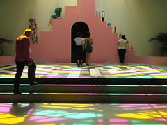 Le poids de la lumire (_ Adle _) Tags: paris sol lumire exposition installation artcontemporain escalier couleur palaisdetokyo plafond marches verrire monter