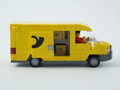 Transporter Paketpost (Package Car) 1.0 04 (-Nightfall-) Tags: car post lego delivery van package moc