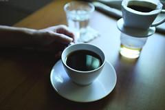 Homemade Coffee [EXPLORED] (Iyhon Chiu) Tags: coffee brewing hand homemade d750  2015   pourover    dripbrewing