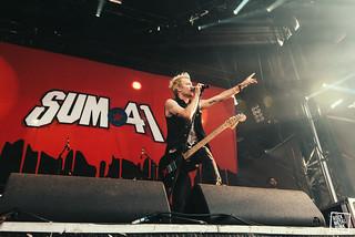 24/06/2016 - Sum 41 at Amnesia Rockfest // Shot by Lori Gutman