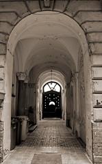 Hungarian Art Nouveau (elinor04 thanks for 25,000,000+ views!) Tags: street door city light shadow building architecture hungary arch budapest architect artnouveau doorway terzvros jakabdezs komorjakab komormarcell komorsjakab