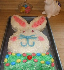 My Easter Bunny Cake 2012