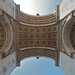Arc de Triomphe - bottom-up
